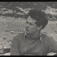 08-Photograph photograph of Dylan Thomas by Nora Summers-p15878coll98_7228_large