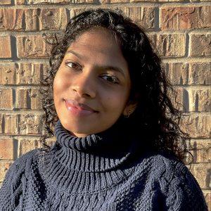 UT student Pritika Paramasivam