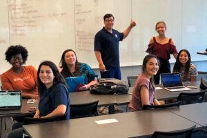 UT students in classroom