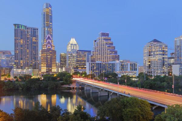 Austin Skyline – Texas