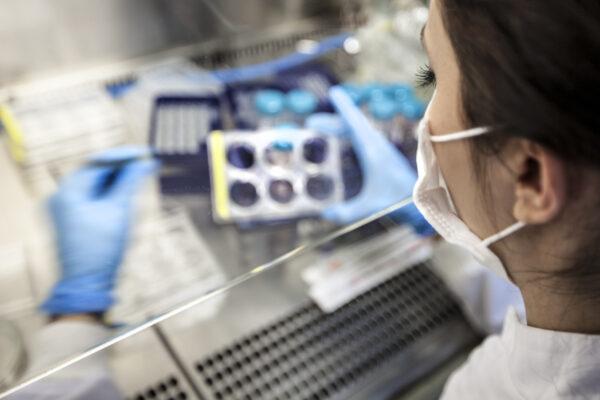 scientists at lab