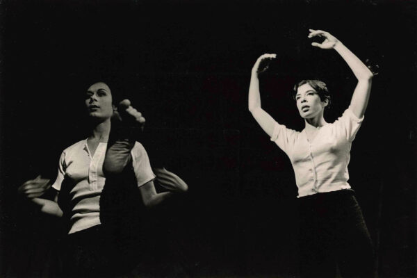 YvonneRainerDeborahHay-TheyWill-JudsonChurch-1964-PhotoPeterMoore (c) Northwestern University –